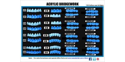 ACRYLIC BRIDGEWORK kit-Art.no.500-00