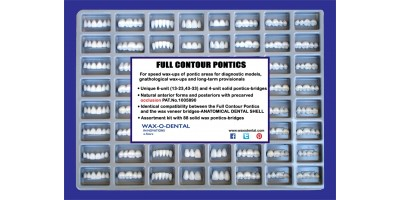 WAX-O-DENTAL FULL CONTOUR PONTICS kit-Art.no.200-00