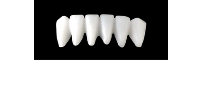 Cod.S9LOWER ANTERIOR : 10x  solid (not hollow) wax bridges, LARGE, Aligned, (43-33), compatible to Cod.E9LOWER ANTERIOR (hollow), (43-33)