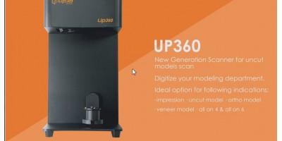 UP360-NEW GENERATION SCANNER FOR UNCUT MODELS SCAN
