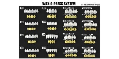 WAX-O-PRESS SYSTEM PAT.NO.1005890-Art.no.600-00